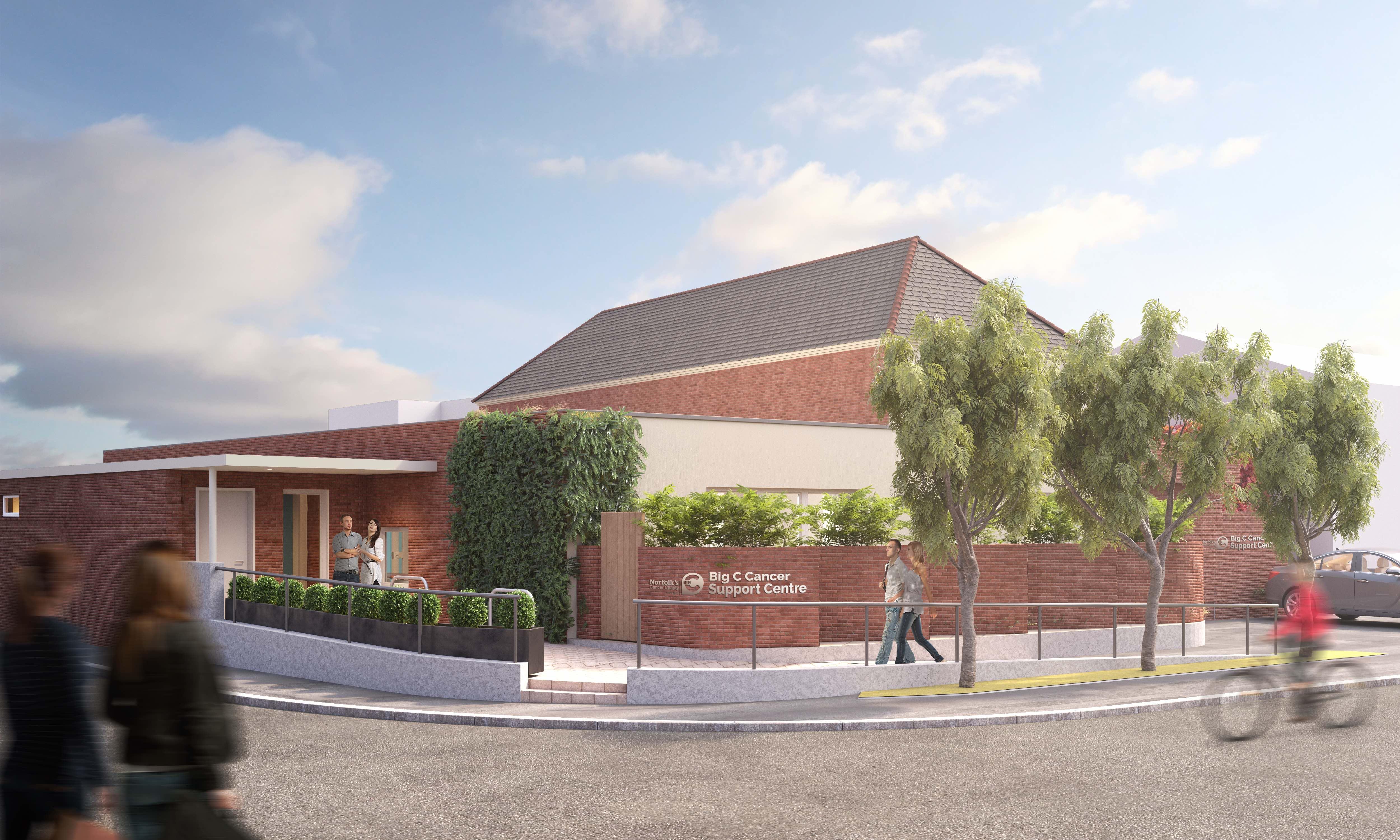 Big C New Centre on Dereham Road